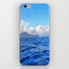 Aegean Blue iPhone & iPod Skin