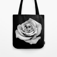 Beauty & Death - Edited Tote Bag