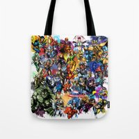Marvel MashUP Tote Bag