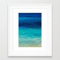 SEA BEAUTY Framed Art Print