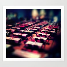 Tables and such. Art Print