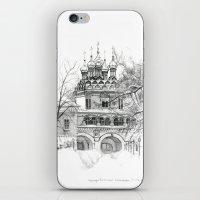 Winter Joseph-Volokolamsk Monastery SK031 iPhone & iPod Skin