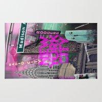 New York City II [pink] Rug