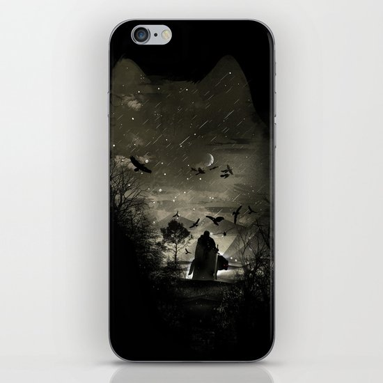 The Lord Crow iPhone & iPod Skin
