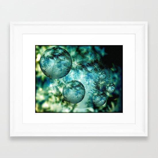 Mystery Worlds Framed Art Print