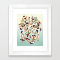 Aobajousai Framed Art Print