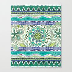 Boho Bloom Canvas Print