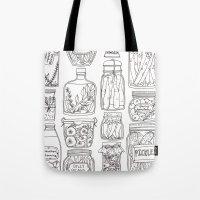 Pickles Print Tote Bag