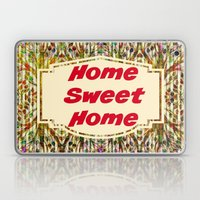 Stained Glass Home Sweet Home  Laptop & iPad Skin