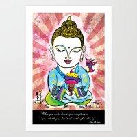 Buddha's Delight Art Print