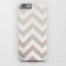 NUDE CHEVRON iPhone 6 Slim Case