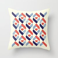 Dutch Tulip Throw Pillow