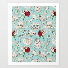 Wear To Wonderland – S… Art Print