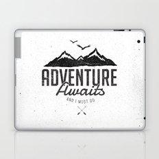 ADVENTURE AWAITS Laptop & iPad Skin