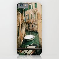 iPhone & iPod Case featuring Quiet Canal by Yield Media