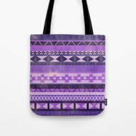 Native Spirit (Purple) Tote Bag