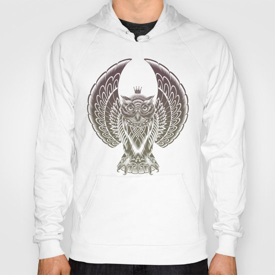 Silent Flight (Owl Wings) Hoody