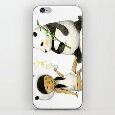 Tea Time with Panda  iPhone & iPod Skin