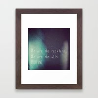 Youth. Framed Art Print