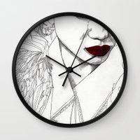 China Girl Wall Clock