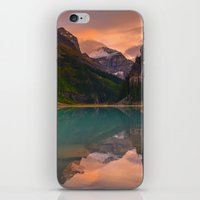 Autumn in Lake Louise iPhone & iPod Skin