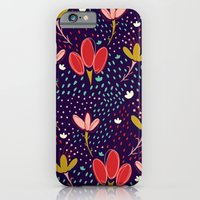 iPhone & iPod Case featuring Vintage Ditsy Floral by Sara Berrenson
