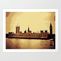London Haze Art Print