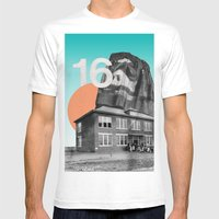 Sixteen Mens Fitted Tee White SMALL
