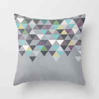 Nordic Combination 7 Throw Pillow