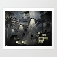 Dark Future Art Print