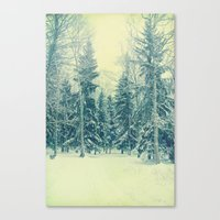 Once Upon A December Canvas Print