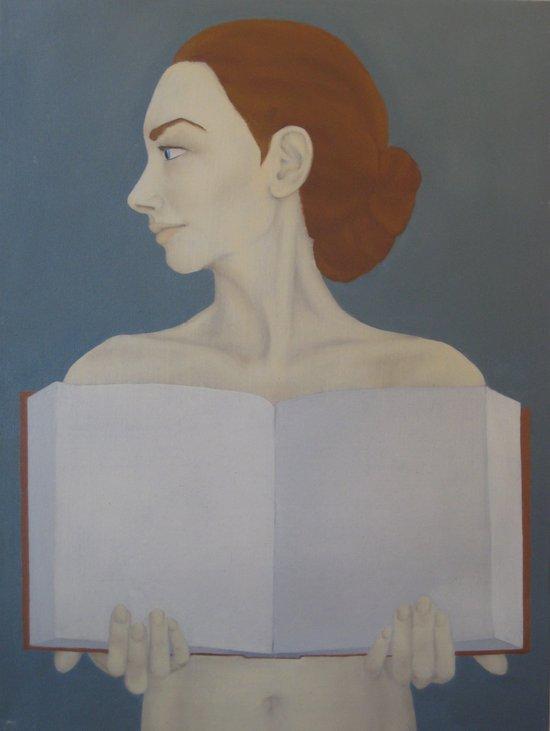 Bookish Art Print