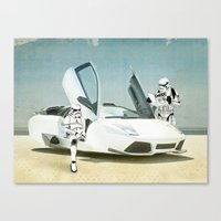 Lost searching for the Death Star 03 Canvas Print