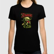 Legend Of Zombie Womens Fitted Tee Black SMALL