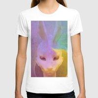 rabbit T-shirts featuring rabbit by Maria Enache