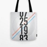 07/25/1983 Tote Bag