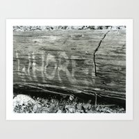 Whore Art Print