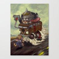 No Hippies! Canvas Print