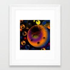 Sphractal Framed Art Print