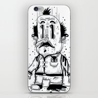 Stinky Man iPhone & iPod Skin
