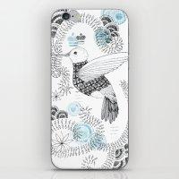 Blue King 2 iPhone & iPod Skin