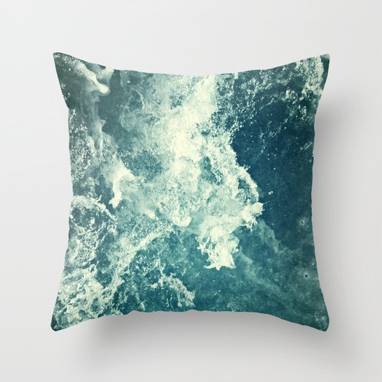 Water III Throw Pillow