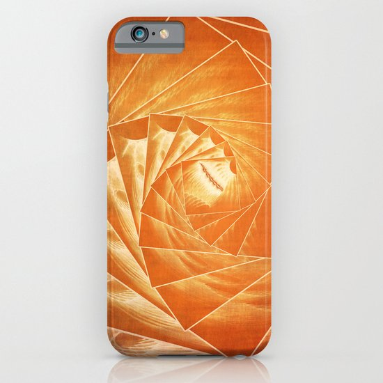 The Burning Eye Sees Spiral iPhone & iPod Case
