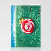 New Year Ball Stationery Cards
