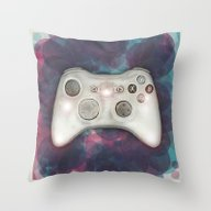 Joystick #07 Throw Pillow