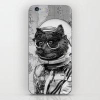 Space Kitten iPhone & iPod Skin