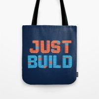 Just Build Tote Bag