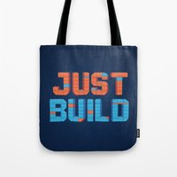 Just Build Tote Bag