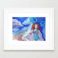 Magic Trick Framed Art Print