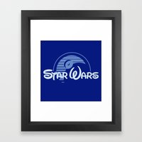 Disney Wars Framed Art Print
